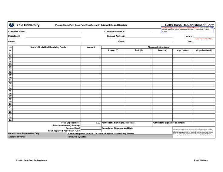 17 best Accounting-petty cash images on Pinterest   Accounting ...