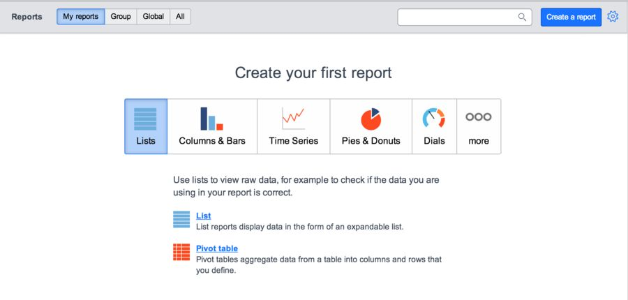 Generating Reports - ServiceNow Wiki