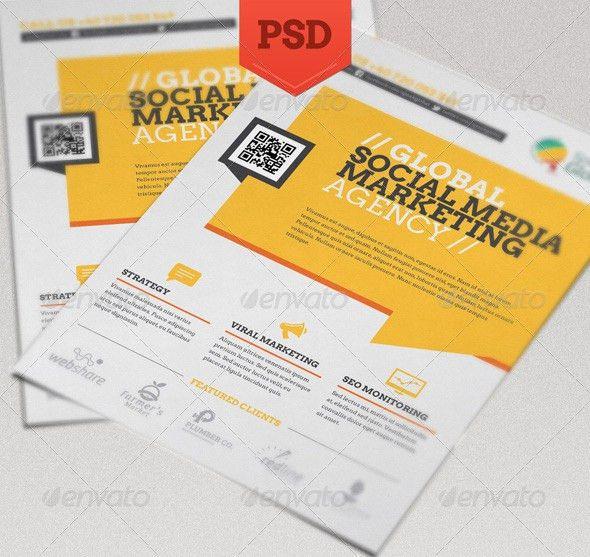 14 Great Social Media Flyer Templates (PSD & InDesign) – Design ...