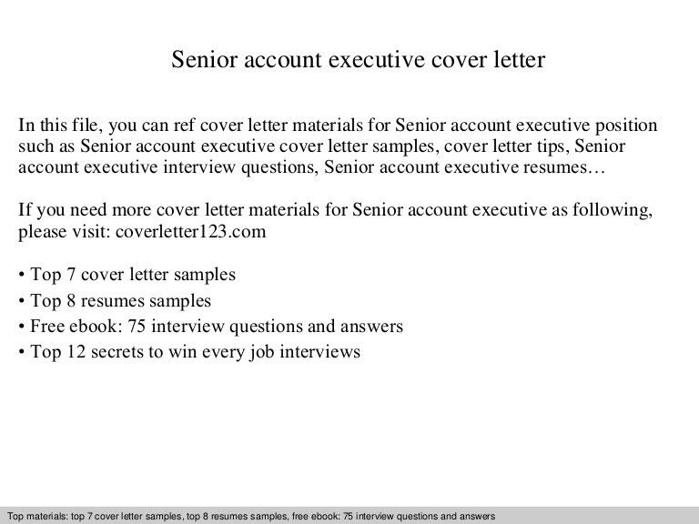 Executive Cover Letter. Cover Letter Samples Administrative ...