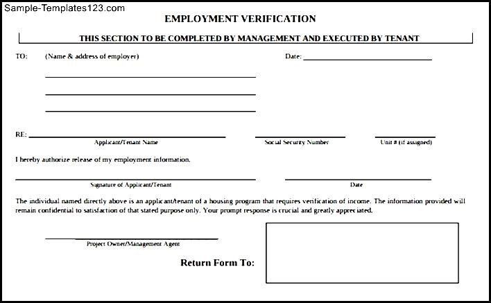 What Is Tenant Verification Form. Form Job Resumes Word 7 Tenant ...