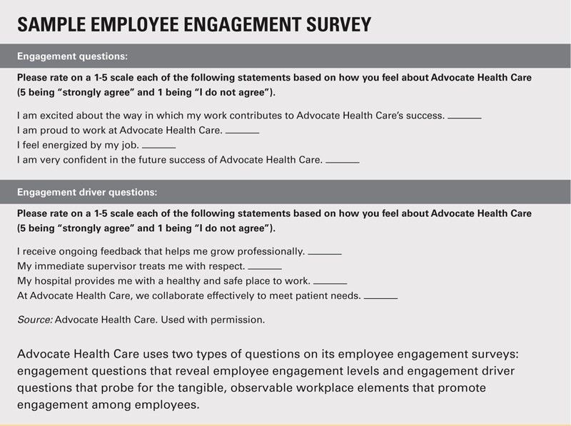Measuring and Boosting Employee Engagement | HFMA
