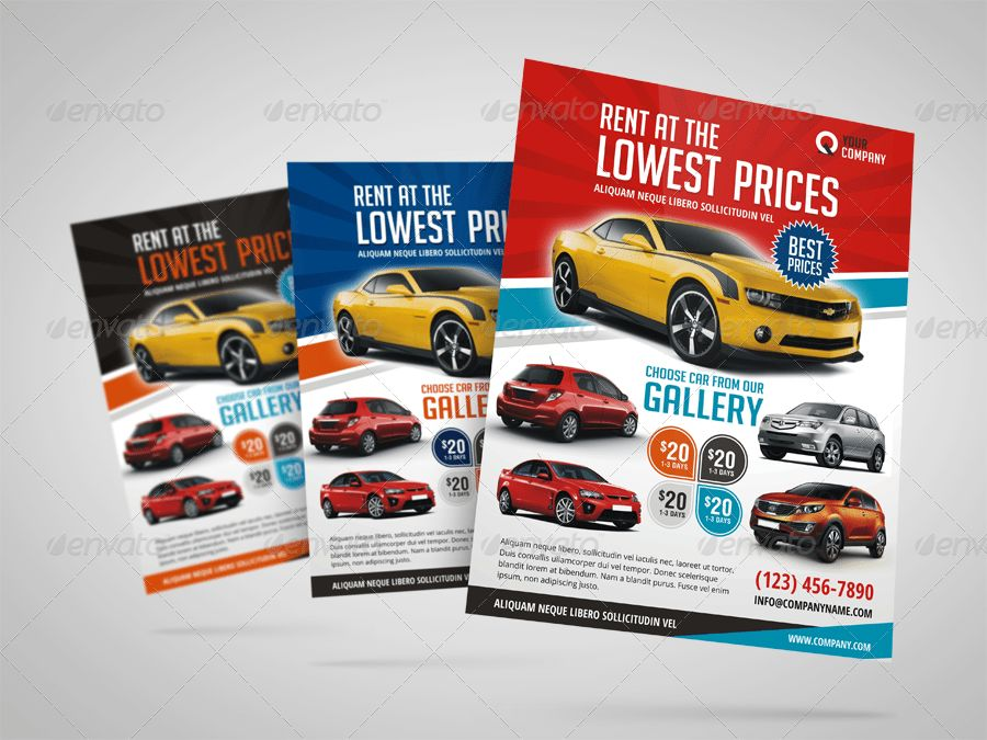 Automotive Car Rental Flyer Ad by Jbn-Comilla | GraphicRiver