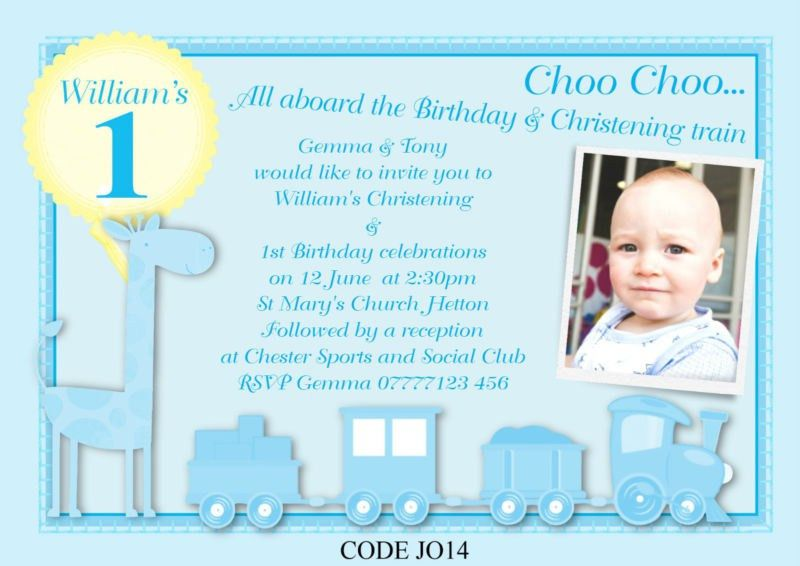 1St Birthday And Christening Invitation | almsignatureevents.com