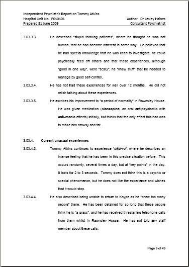 Professional Report Template. Neatly Designed In A Clean And ...