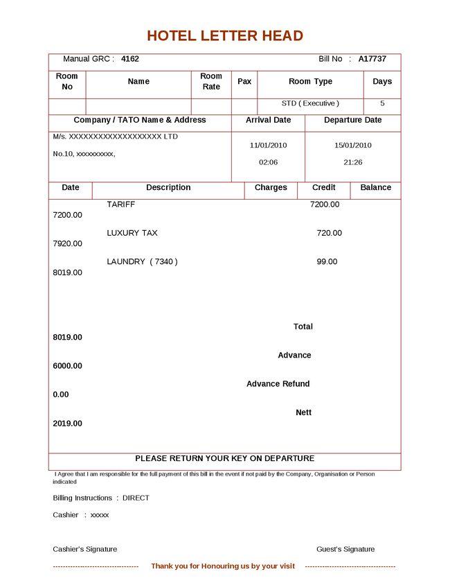 Download Invoice Format Doc India | rabitah.net