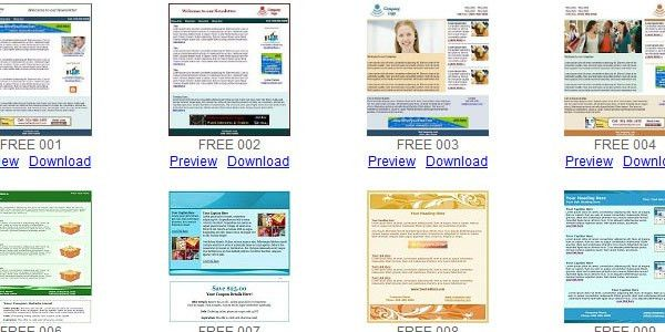 Free Email Newsletter Templates Word | Samples.csat.co