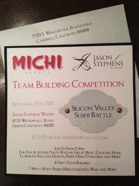 Corporate Team Building Invitation - Sleepy Hedgehog Press