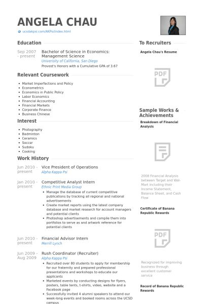 Vice President Of Operations Resume samples - VisualCV resume ...