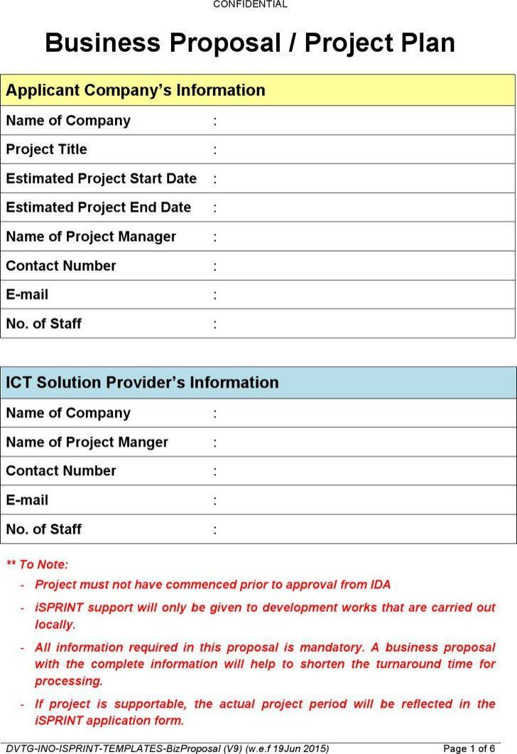 Proposal Templates. Business Proposal Templates Proposal Templates ...