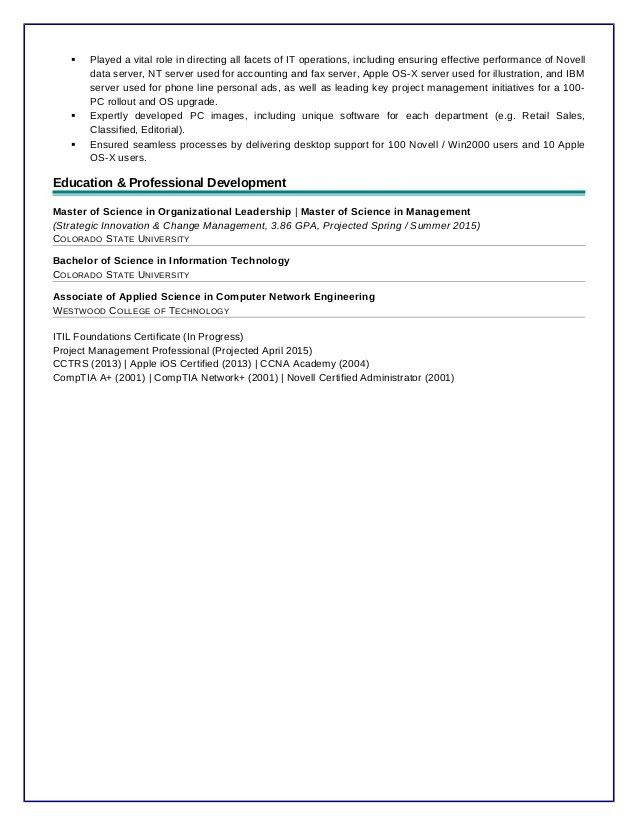 Brian Roney Cover Letter and Resume