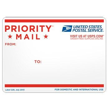 Priority Mail Address Label | Stamps.com