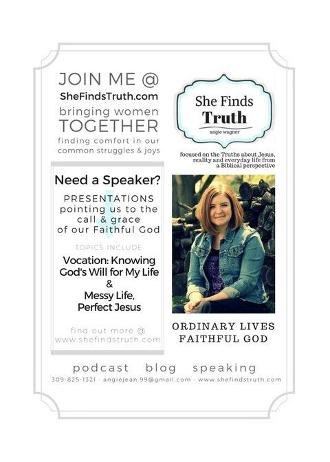 Print & Share – She Finds Truth
