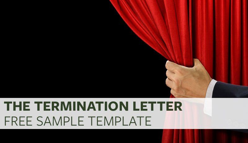 The Termination Letter (Free Sample Template)