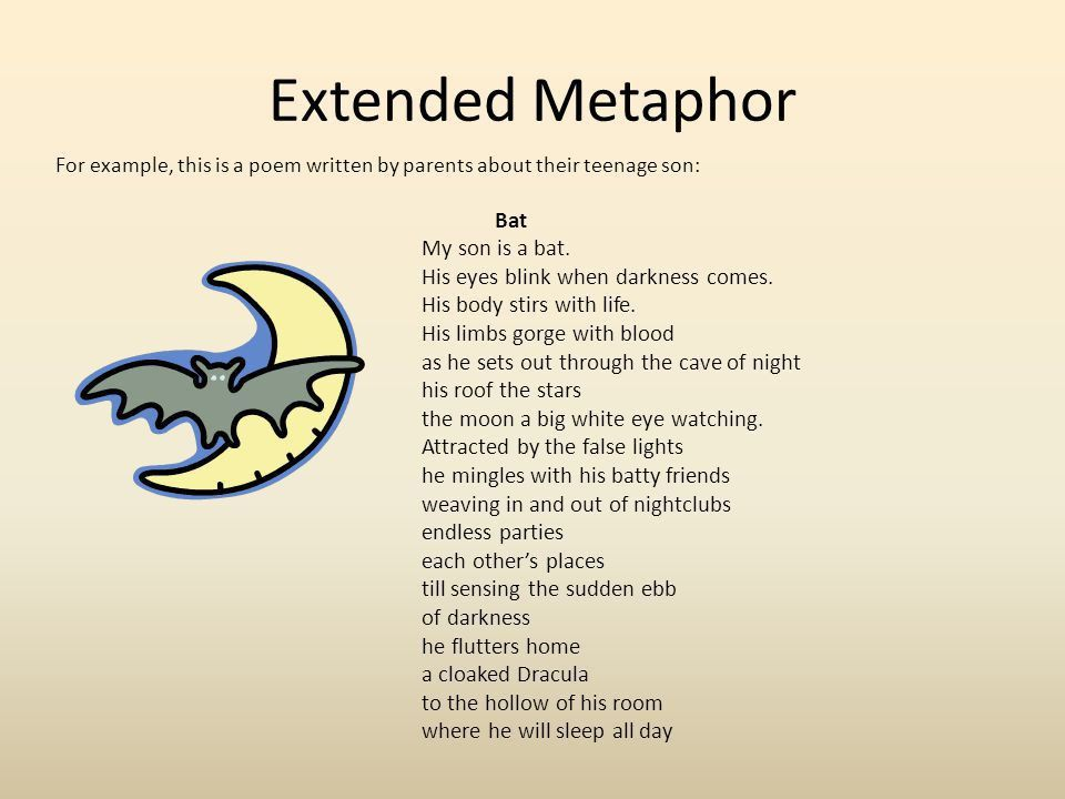 Metaphors A poetic introduction. - ppt video online download