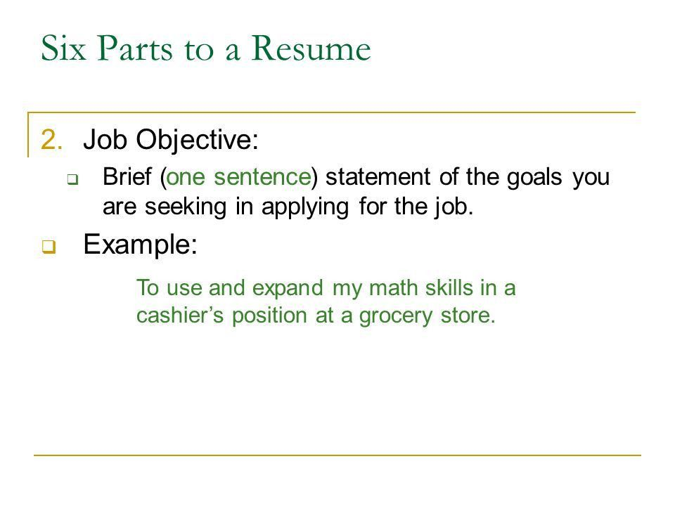 Writing a Resume. - ppt download