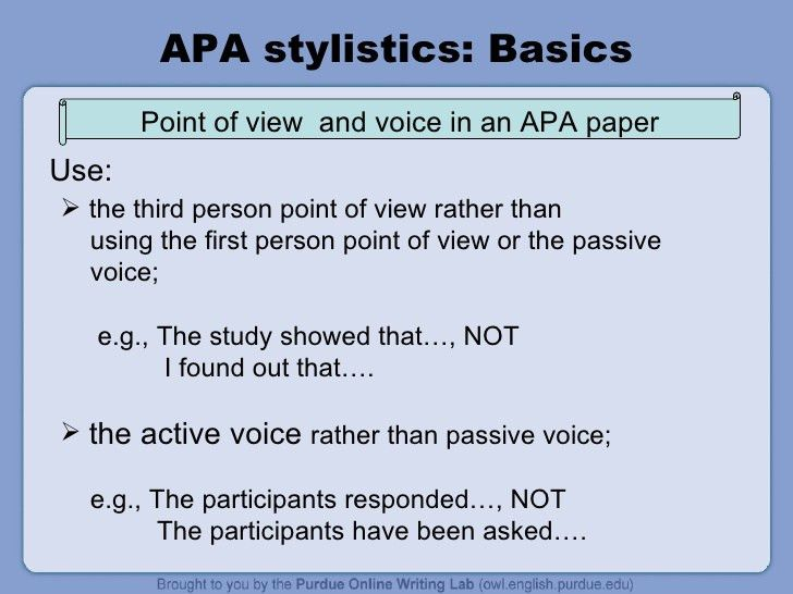 Apa Headings