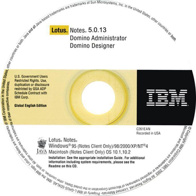 IBM Lotus Notes Domino Administrator Domino Designer Release 5.0 ...