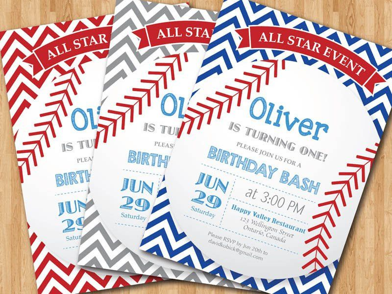 Free Printable Baseball Birthday Invitations : Kids Baseball ...