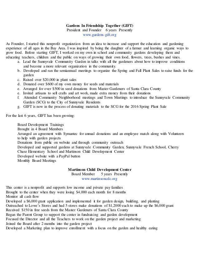 Theresa E. Stewart Administrator Resume 2016