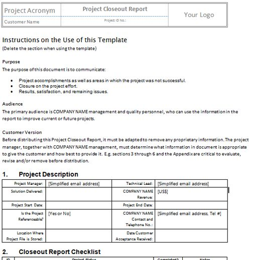 Silver Package Templates | Project Management Templates