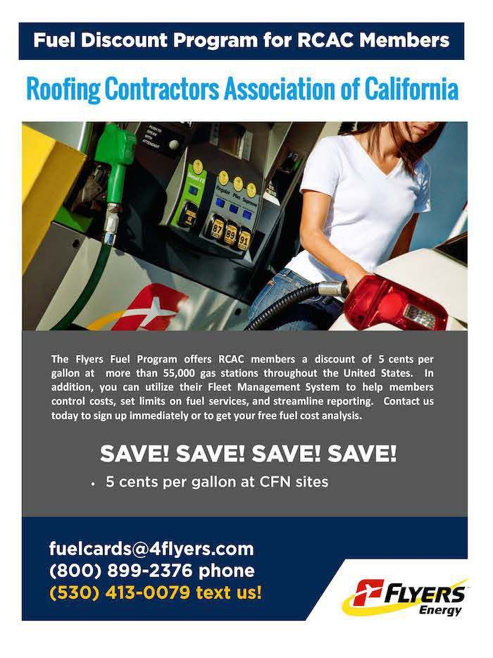 Flyers Energy – Roofing Contractors Association of California
