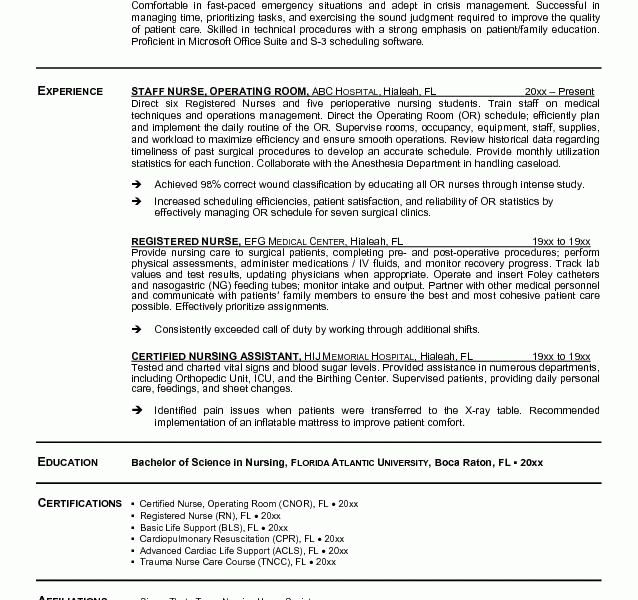 Creative Design Rn Resume Samples 13 Nurse RN Resume Sample ...