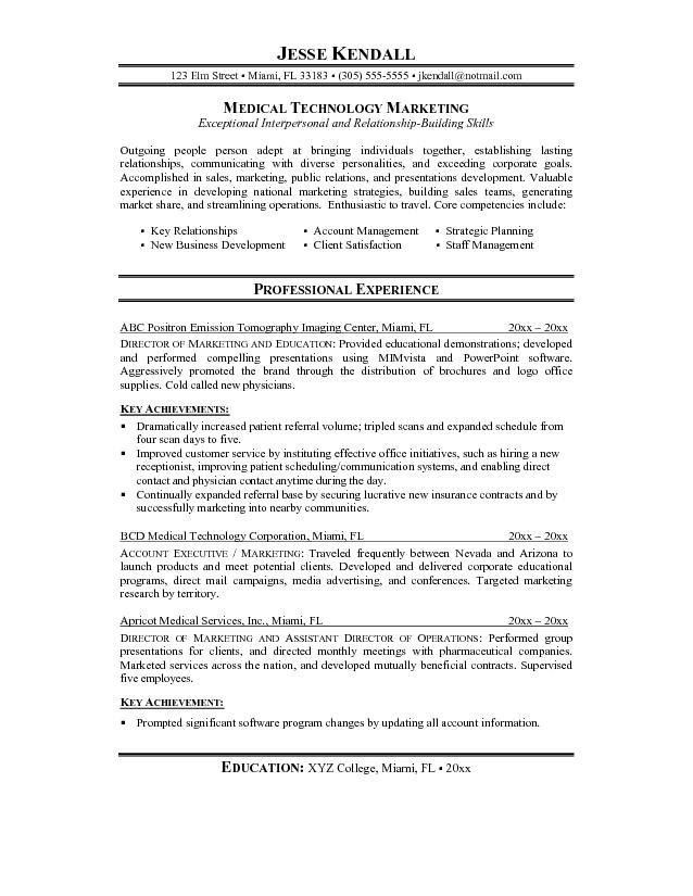 biology resume objective template example resume and cover letter ...
