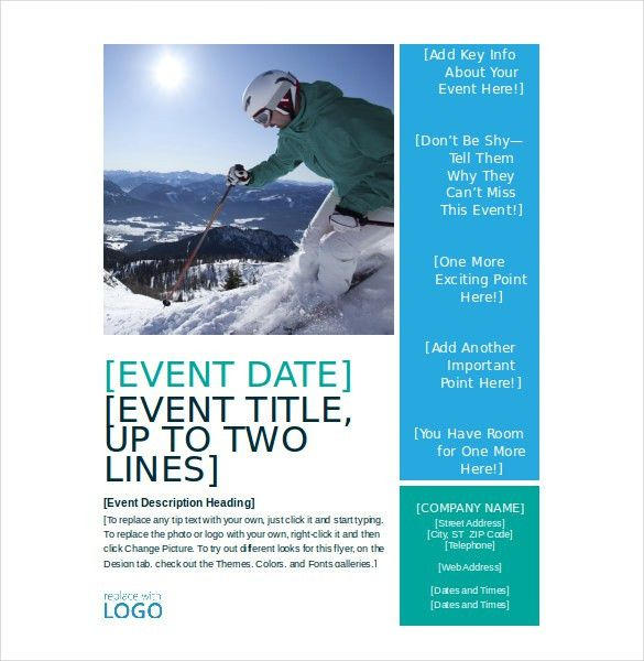free event flyer templates word - thebridgesummit.co