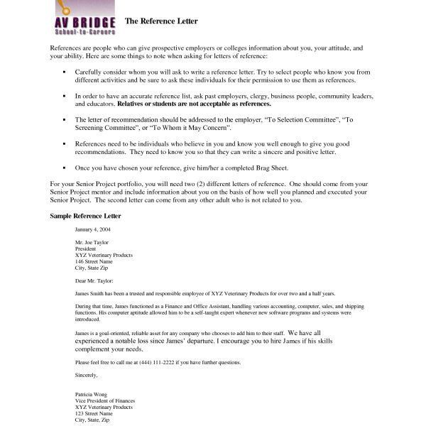 Character Reference Letter For Immigration Template Resumepersonal ...