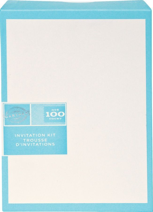 Gartner Studios Invitations 5 12 x 8 12 Ivory Pack Of 100 by ...