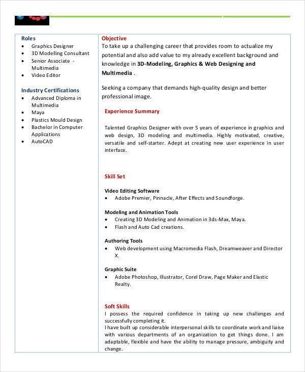 basic fresher resume templates 4 free word pdf format download - Modeling Career Resume