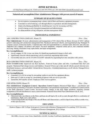 heavy equipment operator - Resume For Heavy Equipment Operator