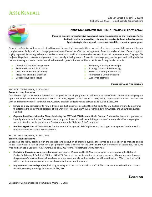 Advertising Account Executive Resume | Free Resume Templates