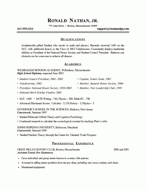 resume samples students finance student resume example sample