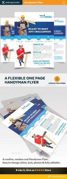 Electrical Service Flyer Template | Flyer template, Illustrator ...