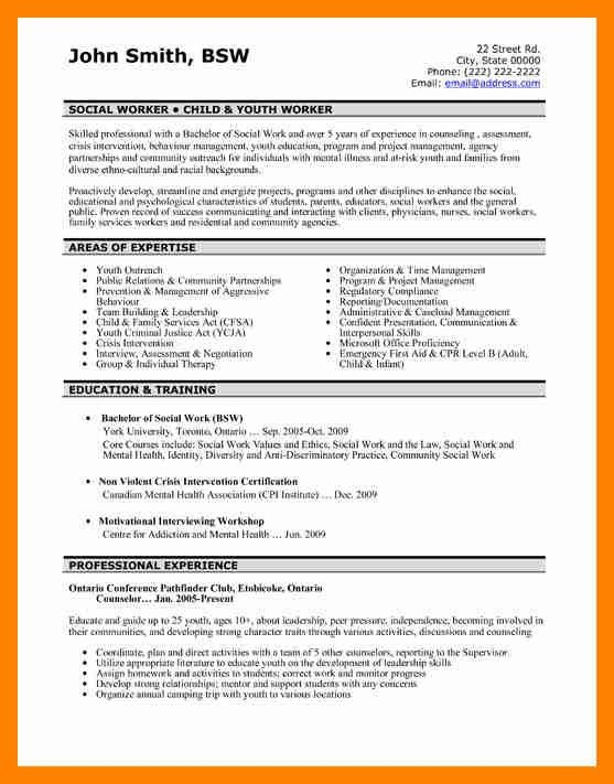 5+ social worker resume example | doctors signature