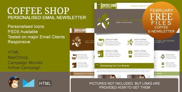 FREE Responsive Email Newsletter Templates – Top Newsletter Template