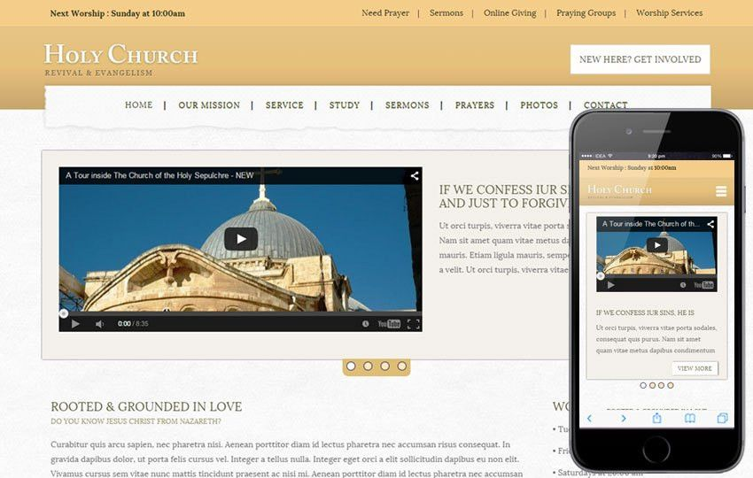Church Templates - w3layouts.com