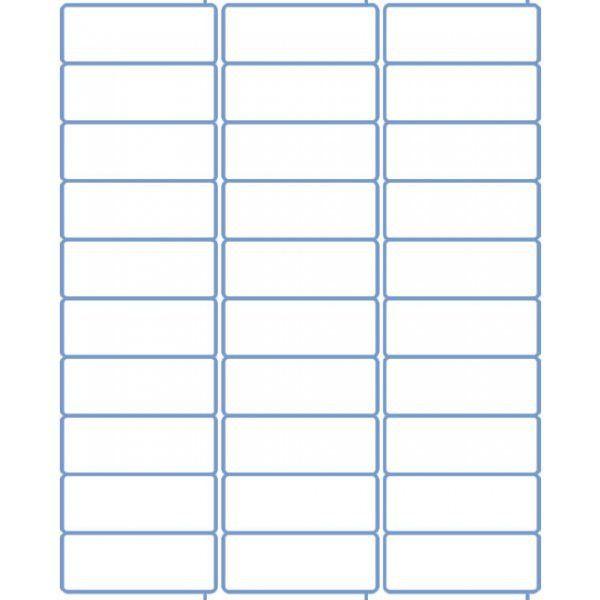 Address Labels - Laser Labels - Inkjet Labels - 2.625 x 1 - 30 per ...