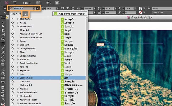 Make a flyer in InDesign | Adobe InDesign CC tutorials