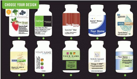 Vitamins Private Labeling