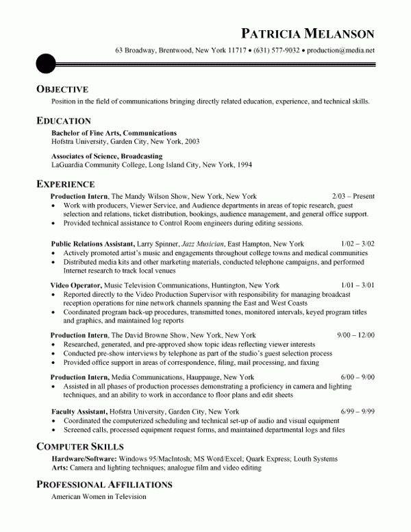 Chronological Resume - Obfuscata