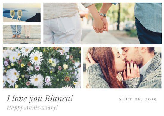 Anniversary Card Templates - Canva