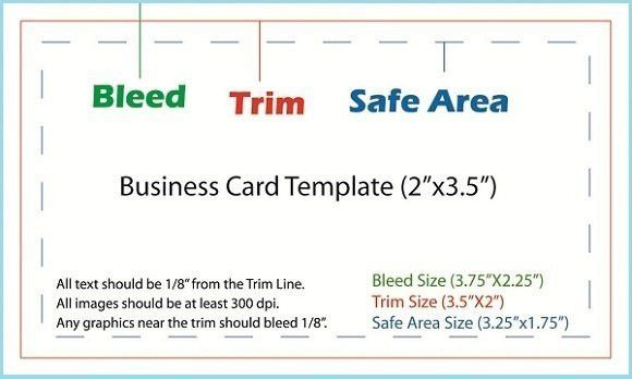 Vistaprint Business Card Template | Best Template Examples