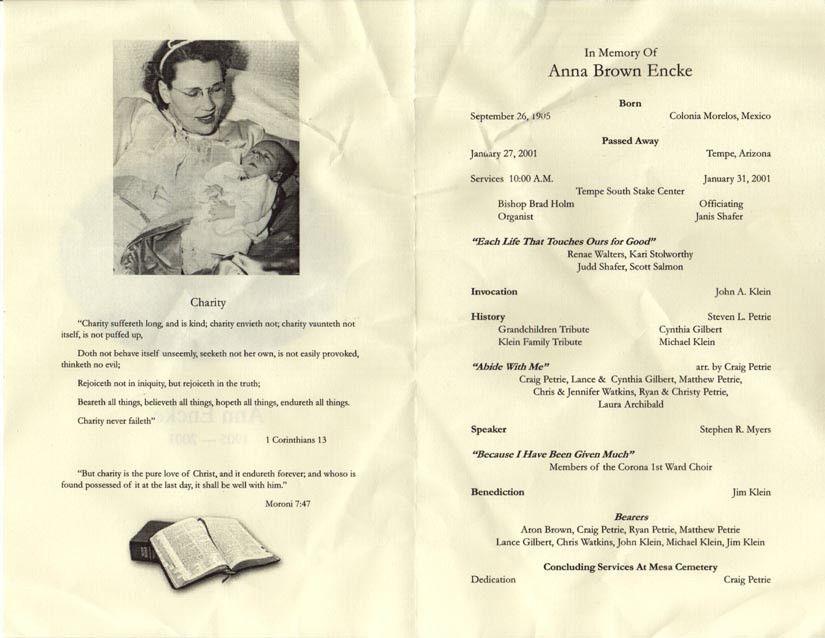 Child Funeral Program Template. Webfront Nursery Blue Memorial ...
