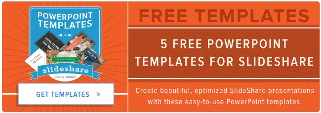 5 Pre-Designed PowerPoint Templates for Creating SlideShare ...