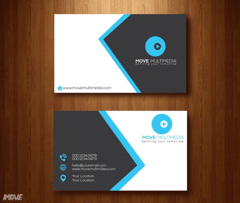 Modern Business card template free download