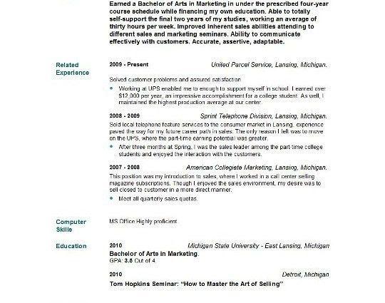 Resume Sample Graduate Nurse - Templates
