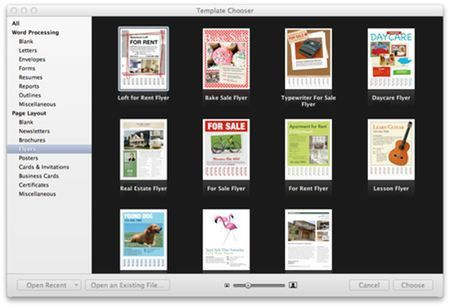 Make a Flyer in Pages on the Mac | MacTips - Top Tips and Tricks ...